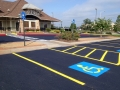 Commercial Paving of Restaurant