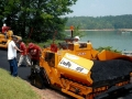 Installing a Roadway at the Lake.