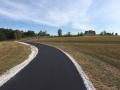 asphalt driveway after