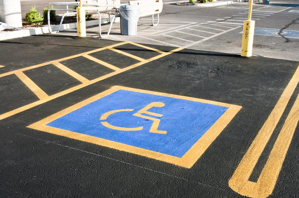 handicap marking'
